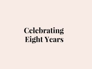 RARAPR CELEBRATING EIGHT YEARS
