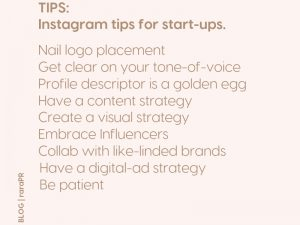 HOW TO BUILD YOUR BUSINESS ON INSTAGRAM FOR START-UPS